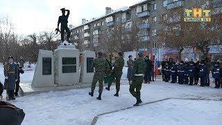 Митинг, посвященный 30 летию вывода советских войск из Афганистана