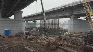 UTV. Строители нового Бельского моста в Уфе столкнулись со сложностями