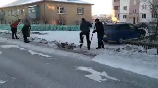 Уборка снега в Баймаке
