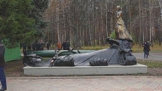UTV. В парке Победы появился памятник морякам Башкирии