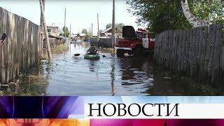 Ливни вызвали наводнение на севере Хабаровского края.