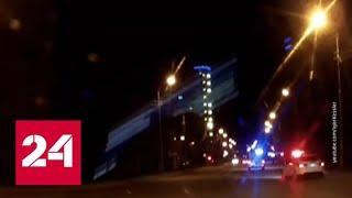 Мужчина с ножом напал на полицейских в Сургуте - Россия 24