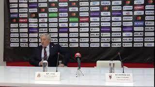 Пресс-конференция главных тренеров : «Витязь» - «Торпедо»
