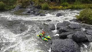 Чемпионат России по водному туризму. Порог Ревун 2016 год