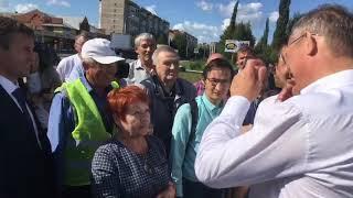 Радий Хабиров  посетил  озеро Светлое 16 июля