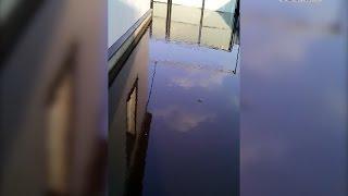 В Альшеевском районе подтопило жилые дома