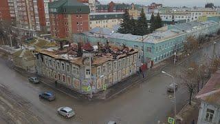 UTV. Дом Бухартовских в огне. Кто ответит за очередной сгоревший в Уфе памятник архитектуры