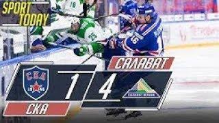 Хоккей | СКА - Салават Юлаев | Обзор матча | 08.09.2018