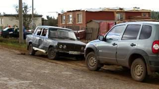 ураган в селе Кариево Краснокамского района Башкирии