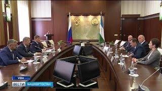 Радий Хабиров встретился с почётными гостями Международных детских игр