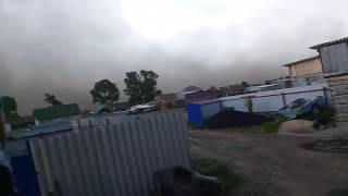 Ураган в Октябрьском.