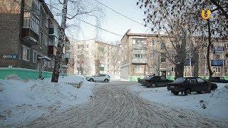 Новости UTV. В Стерлитамаке убирают снег во дворах