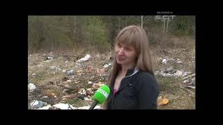 Бикей утопает в отходах  Братчане несколько лет живут без мусорных контейнеров