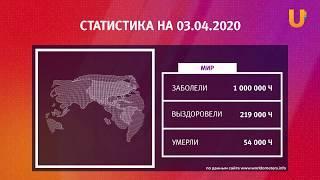 UTV. Коронавирус в Башкирии, России и мире на 3 апреля 2020. Плюс опрос уфимцев