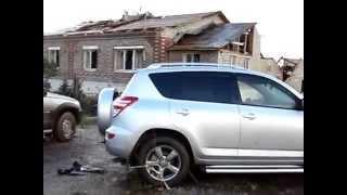 последствия урагана г.Янаул, Башкирия