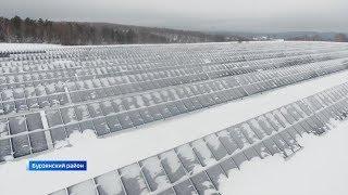 Заработала самая большая в Башкирии солнечная электростанция