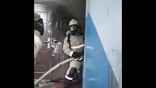 Спасатели показали, как тушат пожар в Башкирии   Ufa1.RU