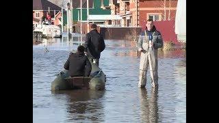В поселке Зубово затопило 63 дома