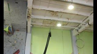 Новости UTV. Протекающая крыша мешает тренироваться салаватским спортсменам