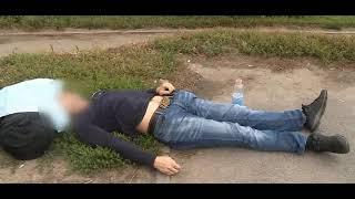 У торгового комплекса в Уфе обнаружен труп молодого мужчины