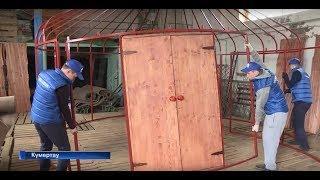 ЮРТА БАШКИРСКАЯ. Производство юрты в городе Кумертау