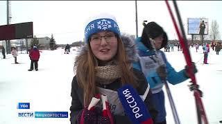 В «Лыжне России» приняли участие рекордное количество жителей Башкирии