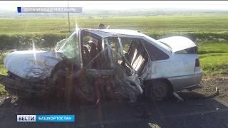 В Башкирии в ДТП погиб водитель: пассажиры доставлены в больницу