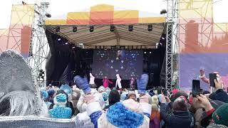 Анна Семенович на Параде Снегурочек в Уфе