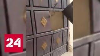"""""""Ложись!"""": срочную эвакуацию жителей Арыса сняли на видео - Россия 24"""