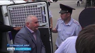 В Башкирии арестовали главу Краснокамского района и его заместителя