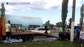 В Белебее на ходу взорвалась машина
