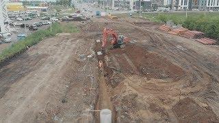 UTV. В Уфе построят улицу за 166 миллионов рублей. По ней будут ездить даже трамваи