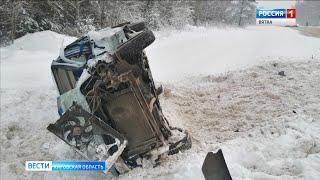 В Кирово-Чепецком районе в ДТП погиб пассажир (ГТРК Вятка)