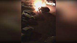 Спасли водителя из автомобиля