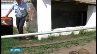 В подвале одной из многоэтажек города  Янаула была обнаружена мина