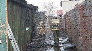 Пожар по улице Строителей, 34