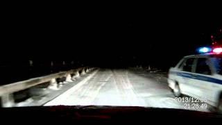 05.12.13 Авария на мосту у д. Конигово, трасса Янаул-Нефтекамск
