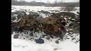 На территории Благовещенска РБ сваливают промышленные отходы литейного производс