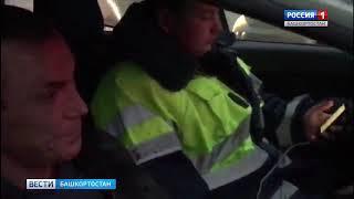 Пьяный и без прав: в Уфе задержали водителя маршрутного автобуса