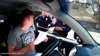Полиция. Первый протокол на Дорожный контроль