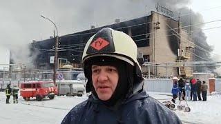 Замначальника МЧС о пожаре на заводе   Ufa1.RU