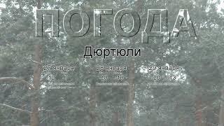 Погода в Дюртюлях сегодня 27 января 2020. На завтра, неделю
