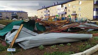Поваленные деревья и сорванные крыши: в Башкирии продолжает действовать штормовое предупреждение