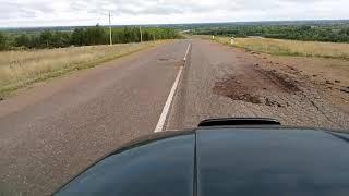 дороги на границе Башкирии и Татарии