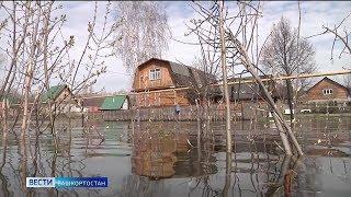 В главных реках Башкирии начал снижаться уровень воды