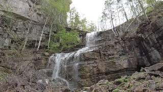 Водопад Куперля. Национальный парк Башкирия.