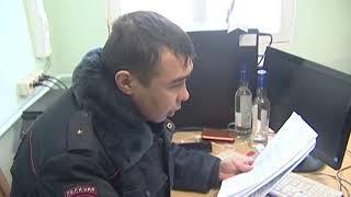 В Абзелиловском районе полицейские выявили факты незаконного оборота алкогольной продукции