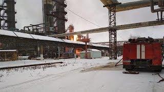 На одном из заводов Стерлитамака возник пожар, есть пострадавшие