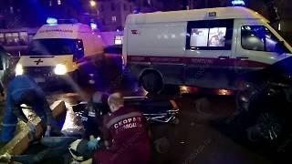 Авария на Октябрьском проспекте 03.11.2017 1 погибшая, 2 пострадавших