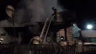 В Туймазинском районе при пожаре погибли дети